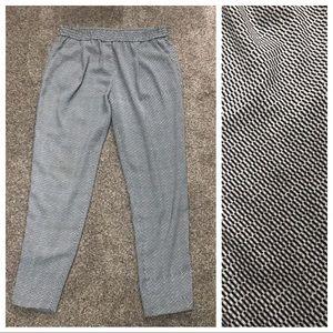 Halogen elastic waist pleated pant M